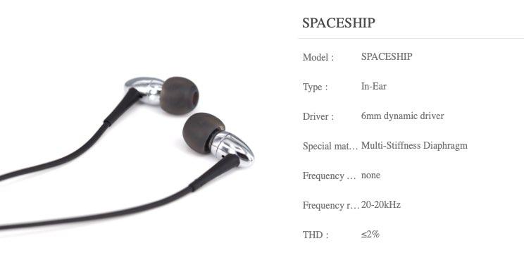 moondrop spaceship specs
